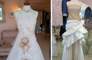 Realizzazione abiti da sposa su misura